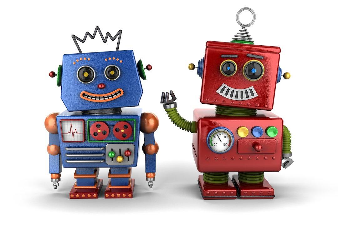 Toy robot buddies